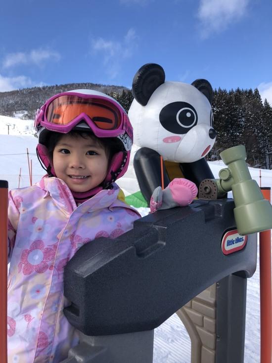 快晴のキッズパーク|おじろスキー場のクチコミ画像