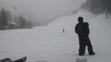 猛吹雪|ホワイトバレースキー場のクチコミ画像