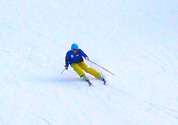 わずかにお客さんが減った?|信州松本 野麦峠スキー場のクチコミ画像