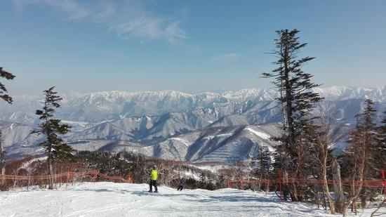 豊富な雪といろいろ楽しめるコース|かぐらスキー場のクチコミ画像