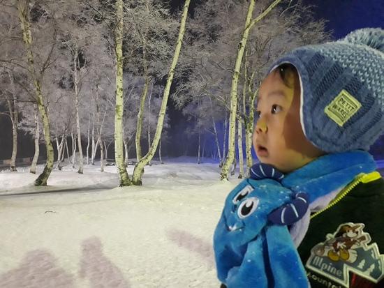 息子2歳 初めての雪|水上高原スキーリゾートのクチコミ画像