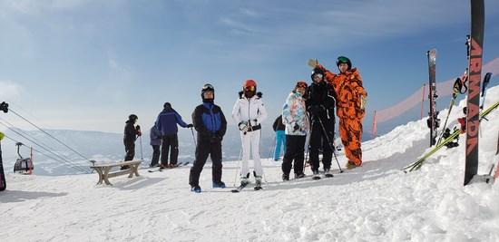 イタリアの友人と|ニセコアンヌプリ国際スキー場のクチコミ画像3
