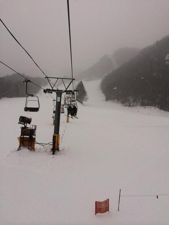 暖かいが雪多い|丸沼高原スキー場のクチコミ画像