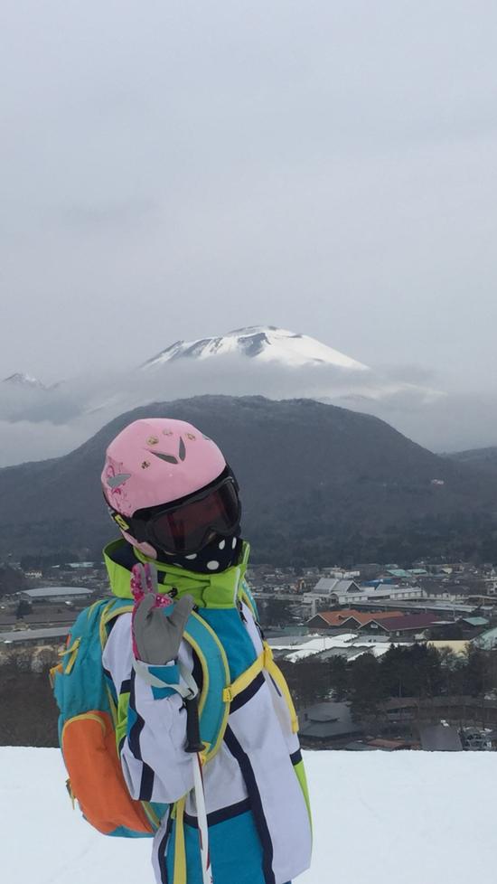 あれ?山がふたつ??|軽井沢プリンスホテルスキー場のクチコミ画像