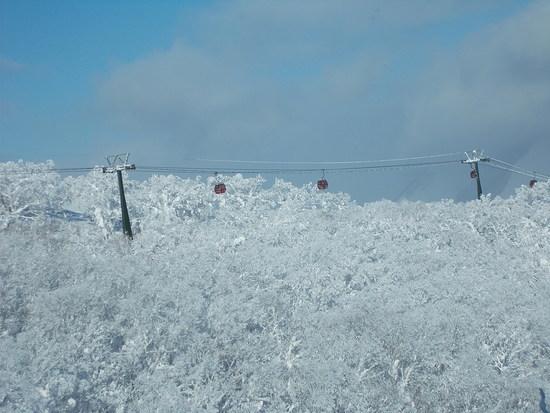 良い雪、良い眺め、多彩でロングなコース|ルスツリゾートのクチコミ画像2