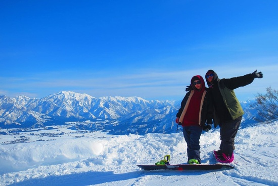 ピーカン女子! 上越国際スキー場のクチコミ画像