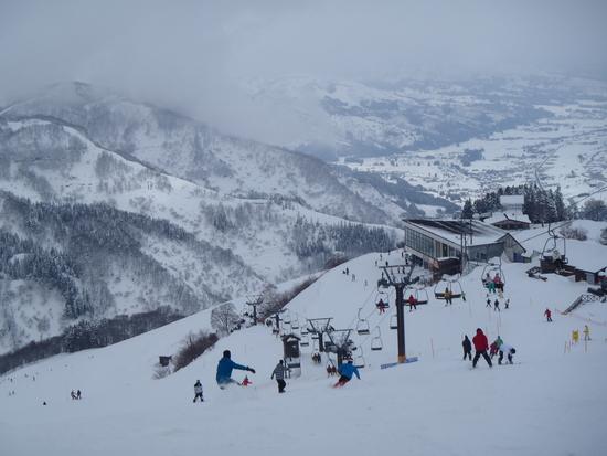 日曜日のゲレンデ|湯沢高原スキー場のクチコミ画像