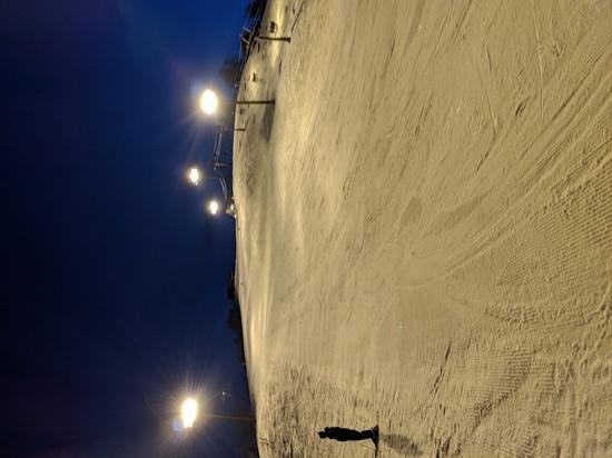 すっかり春の雪のナイター|石打丸山スキー場のクチコミ画像