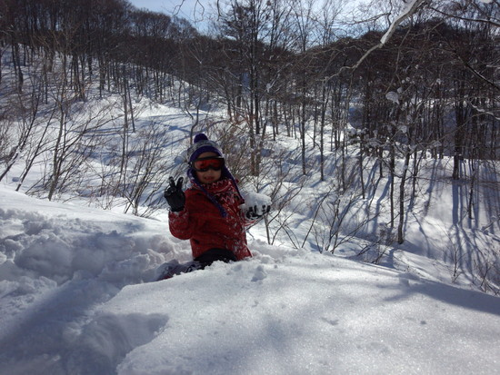 雪質が最高でした。 野沢温泉スキー場のクチコミ画像