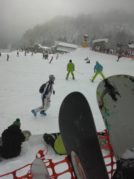 気持ちよく滑れました。|めいほうスキー場のクチコミ画像