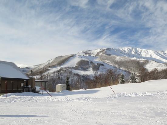 雪が少ない!|白馬八方尾根スキー場のクチコミ画像