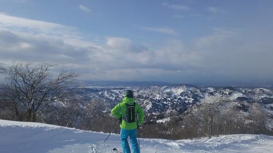 初中級者にいいスキー場|キューピットバレイのクチコミ画像