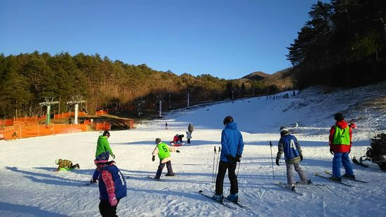 降雪機が頑張って、いい雪でした!|治部坂高原スキー場のクチコミ画像