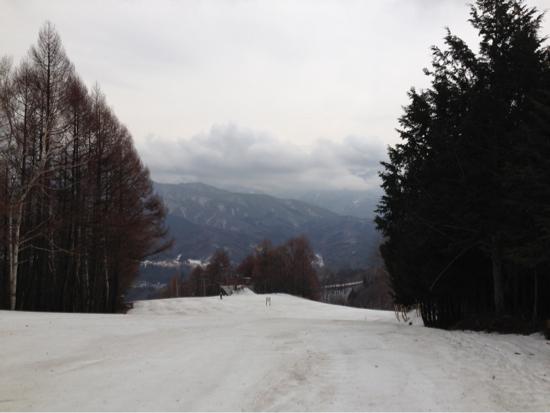やや重だけど、暖かく気持ち良い。|かたしな高原スキー場のクチコミ画像