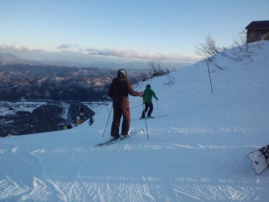 雪不足だけど大盛況!|白馬八方尾根スキー場のクチコミ画像