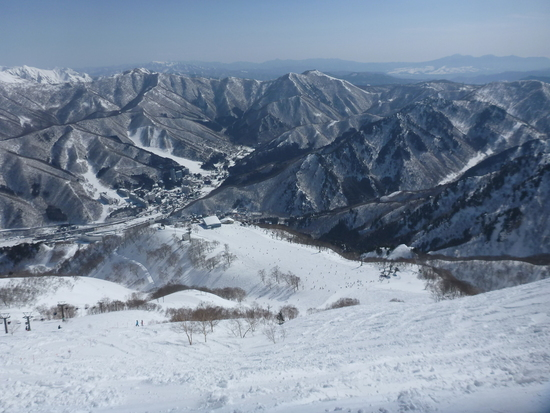緩かったり難かったり|苗場スキー場のクチコミ画像
