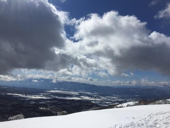 快晴|しらかば2in1スキー場のクチコミ画像1