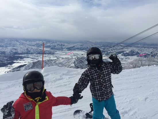 長い急斜面が楽しい|六日町八海山スキー場のクチコミ画像