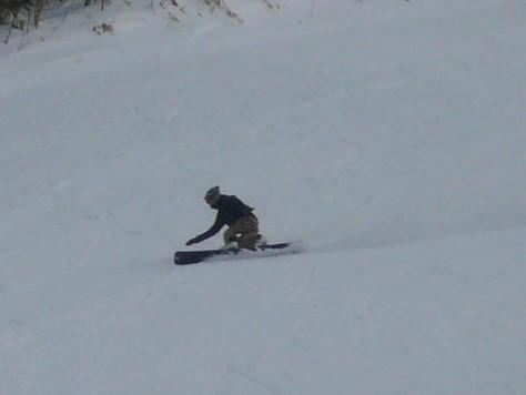 衝突注意です|信州松本 野麦峠スキー場のクチコミ画像
