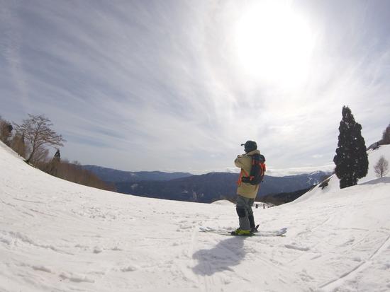 自然の地形|おじろスキー場のクチコミ画像
