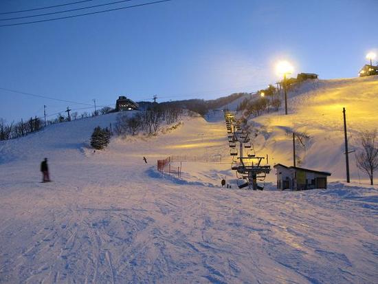 東洋随一のナイター!!|石打丸山スキー場のクチコミ画像