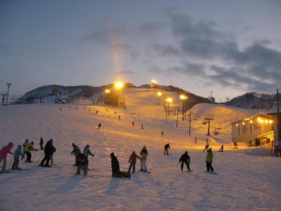 東洋随一のナイター!!|石打丸山スキー場のクチコミ画像3