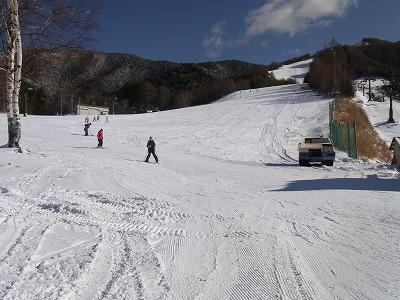 もう少しで全面滑走可|信州松本 野麦峠スキー場のクチコミ画像