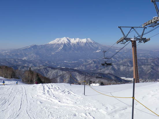きそふくで初滑り|木曽福島スキー場のクチコミ画像1