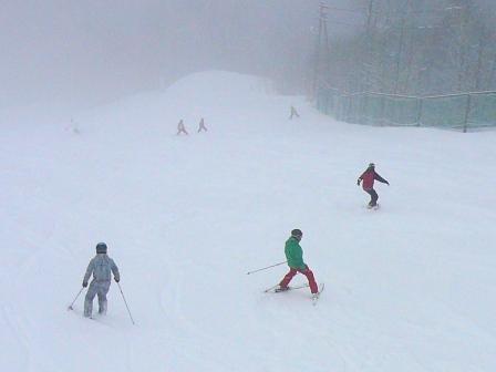 めまぐるしいコンディション|信州松本 野麦峠スキー場のクチコミ画像