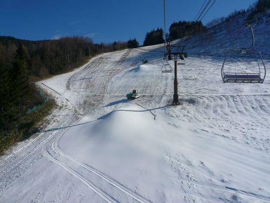 少ないながらも|信州松本 野麦峠スキー場のクチコミ画像