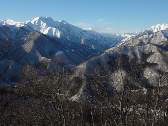 晴れれば谷川岳の大展望|奥利根スノーパークのクチコミ画像