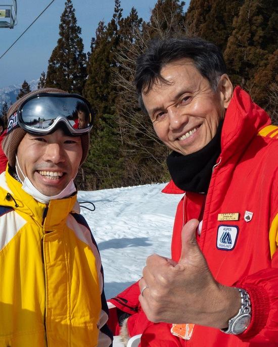 ヒロ寺平さんとツーショット|スキージャム勝山のクチコミ画像