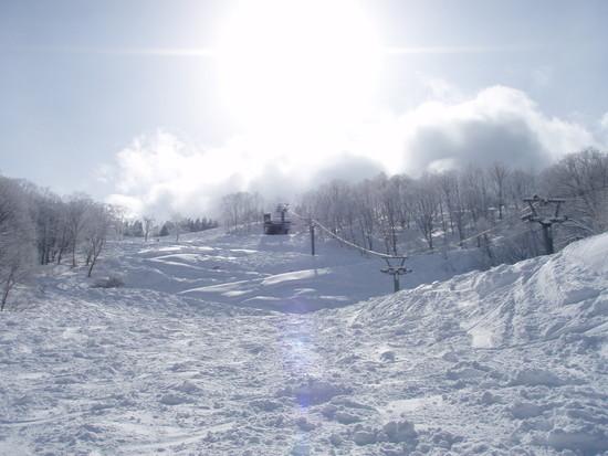 今年の積雪は? 立山山麓スキー場のクチコミ画像2