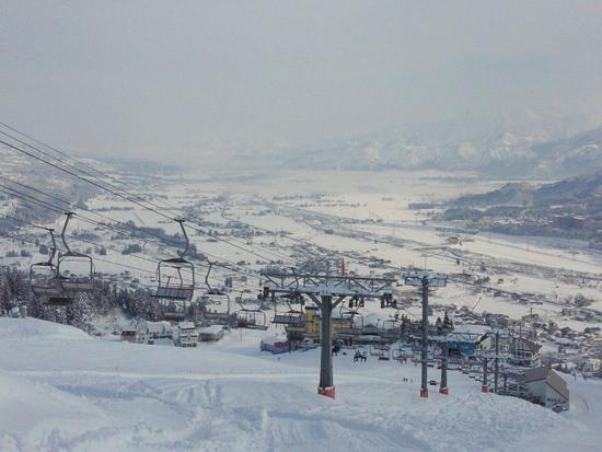 雪質よいです。|石打丸山スキー場のクチコミ画像