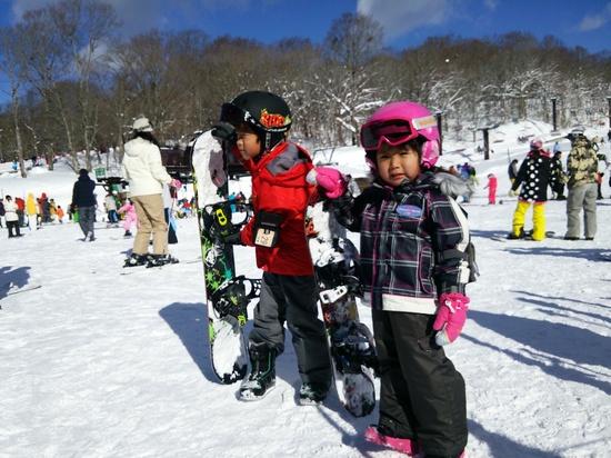 子供向けの緩斜面コース|たんばらスキーパークのクチコミ画像