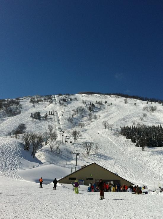 非圧雪主義!|シャルマン火打スキー場のクチコミ画像