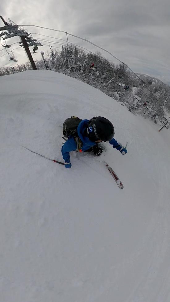 初滑りでパウダー三昧|湯殿山スキー場のクチコミ画像