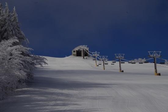 青空で気持ちよく滑走できました|菅平高原スノーリゾートのクチコミ画像1