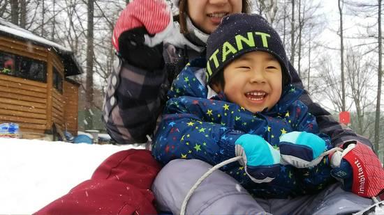 ソリでGO!!|草津温泉スキー場のクチコミ画像1