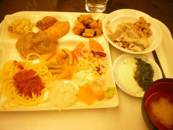 昼食は食べ放題で|白馬コルチナスキー場のクチコミ画像