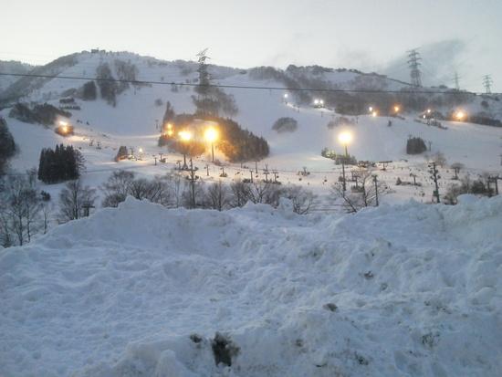 長いボード人生で2回目の苗場!|苗場スキー場のクチコミ画像