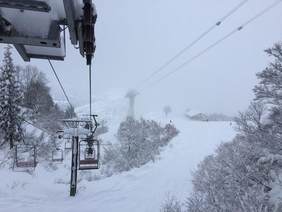 最高のコンディション|六日町八海山スキー場のクチコミ画像