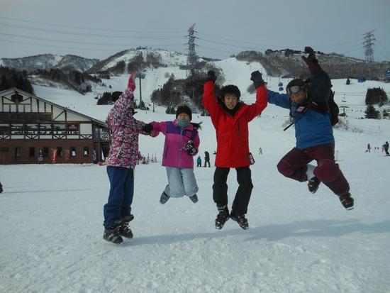 苗場でジャンプ|苗場スキー場のクチコミ画像