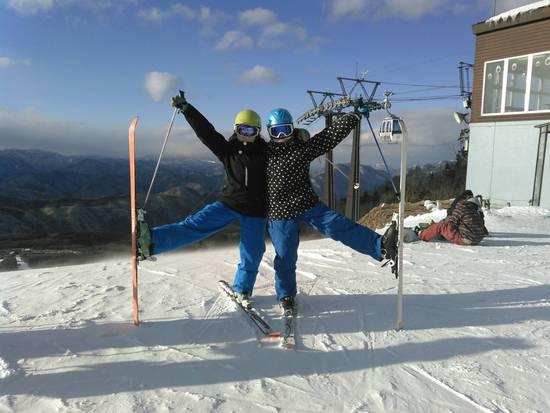 思い立って直ぐ行けるスキー場|ハンターマウンテン塩原のクチコミ画像
