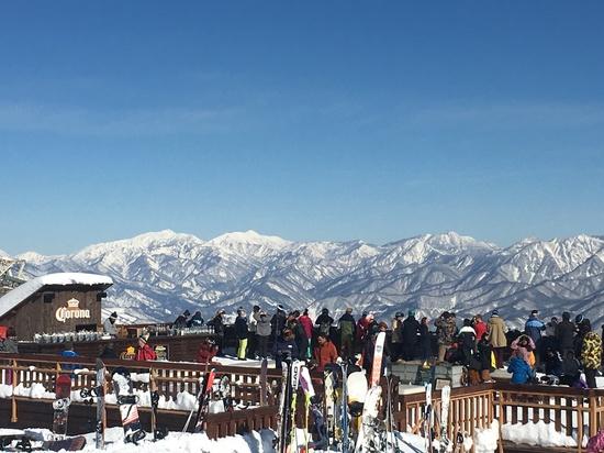 初滑り|白馬八方尾根スキー場のクチコミ画像