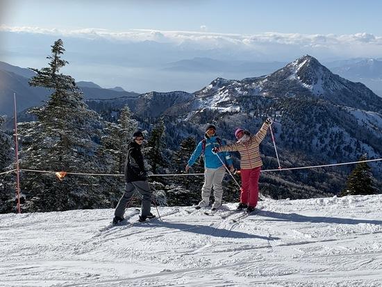 奇跡の晴天|志賀高原 熊の湯スキー場のクチコミ画像