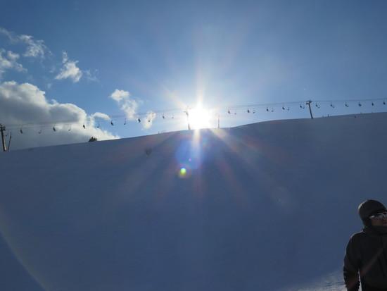 晴天!|白馬八方尾根スキー場のクチコミ画像