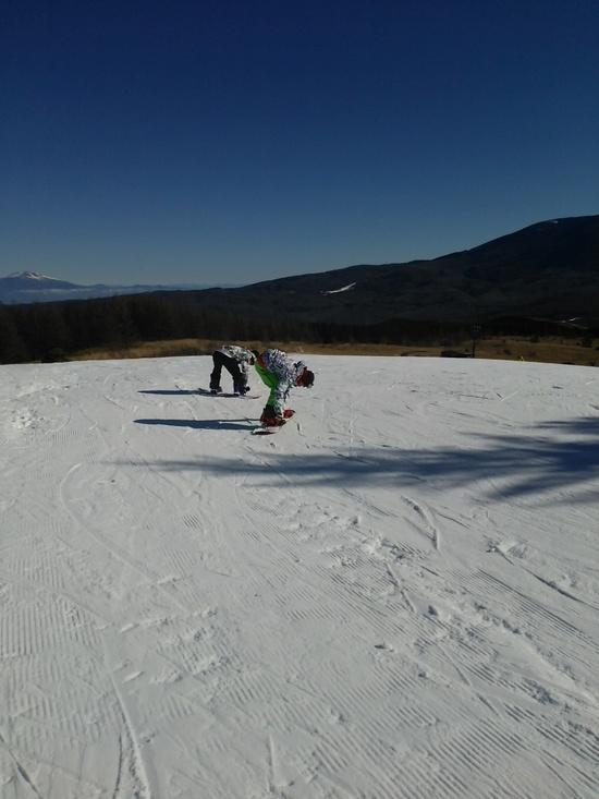 初滑り|車山高原SKYPARKスキー場のクチコミ画像2