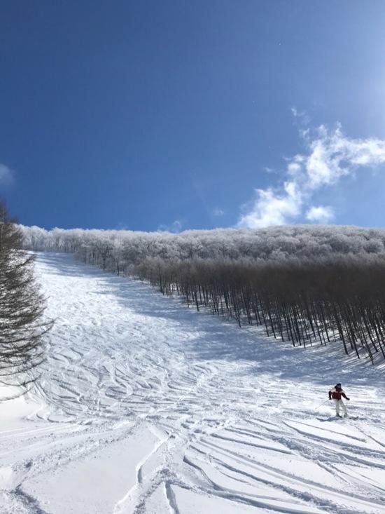 天気も良くご機嫌でした。|会津高原たかつえスキー場のクチコミ画像