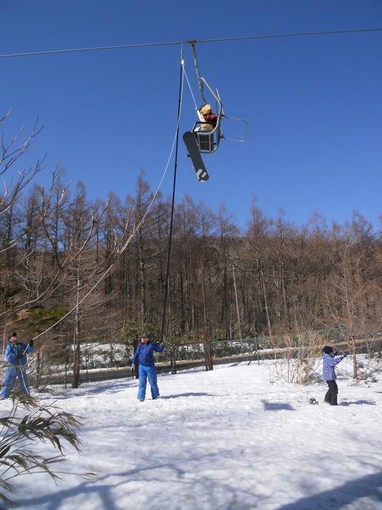 リフトが停まった|あだたら高原スキー場のクチコミ画像1